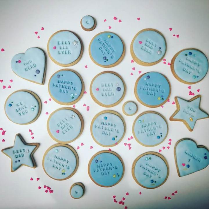 Father's Day Personalised Cookies